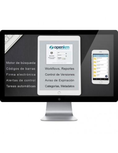 OpenKM Software Gestión de documentos México